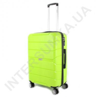Заказать Полипропиленовый чемодан Wallaby средний 126-10/24 лаймовый (78 литров) в Intersumka.ua
