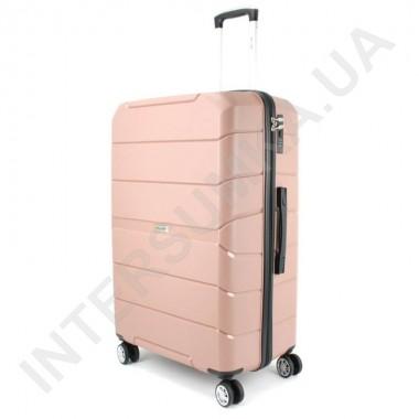 Заказать Полипропиленовый чемодан Wallaby 126-10/28 кофейный (109 литров) в Intersumka.ua