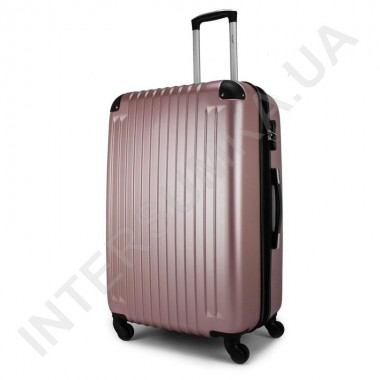 Заказать Чемодан средний Wallaby 6265/22 розово-золотистый (64 литра) на 4 колесах из АБС пластика в Intersumka.ua