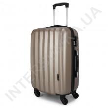 Дорожный чемодан Wallaby 6288/21 золотистый (43 литра) на 4 колесах из АБС пластика