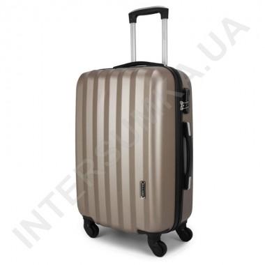 Заказать Дорожный чемодан Wallaby 6288/21 золотистый (43 литра) на 4 колесах из АБС пластика