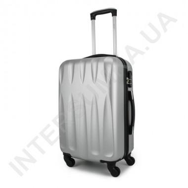 Заказать Чемодан малый Wallaby 999/20 серебристый (38 литров) на 4 колесах из ABS пластика в Intersumka.ua
