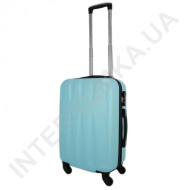 Заказать Чемодан малый Wallaby 999/20 голубой (38 литров) на 4 колесах из ABS пластика в Intersumka.ua