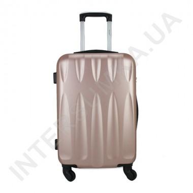 Заказать Чемодан малый Wallaby 999/20 розово-золотой (38 литров) на 4 колесах из ABS пластика в Intersumka.ua