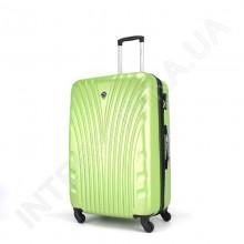 Великий чемодан Wallaby 024/27 лайм (92 літри) на 4 колесах з АБС пластику