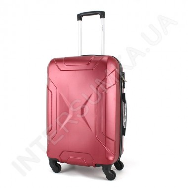 Заказать Дорожный чемодан Wallaby 1721/21 бордовый (44 литра) на 4 колесах из АБС пластика в Intersumka.ua