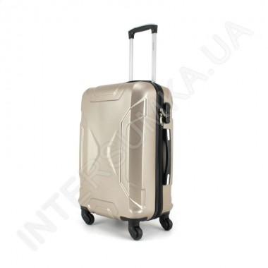 Заказать Дорожный чемодан Wallaby 1721/21 шампань (44 литра) на 4 колесах из АБС пластика в Intersumka.ua