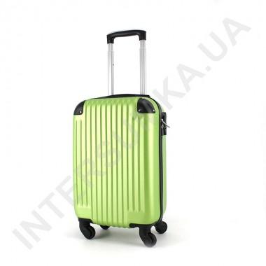 Заказать Чемодан маленький Wallaby 6265/18 лаймовый (28 литров) из ABS пластика в ручную кладь в Intersumka.ua