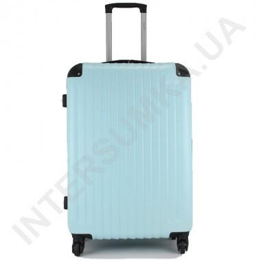 Заказать Чемодан большой Wallaby 6265/26 голубой (98 литров) на 4 колесах из АБС пластика в Intersumka.ua