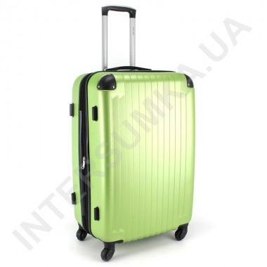 Заказать Чемодан большой Wallaby 6265/26 лаймовый (98 литров) на 4 колесах из АБС пластика в Intersumka.ua