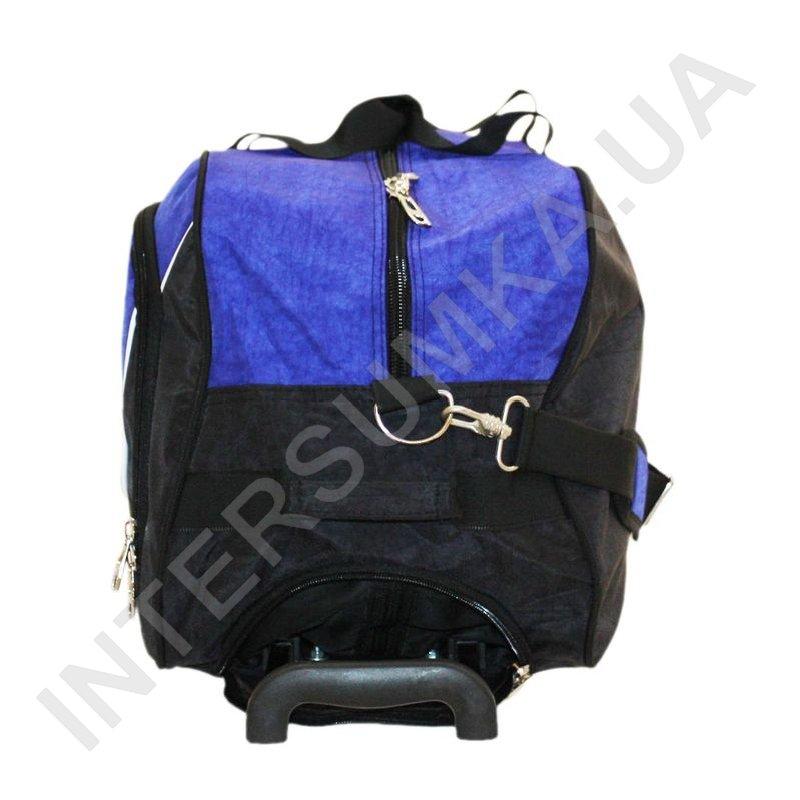 ... Купить сумка спортивна на колесах Wallaby 10428 (обсяг 57л) синя з  блакитними вставками ... 87fcfee4b0086