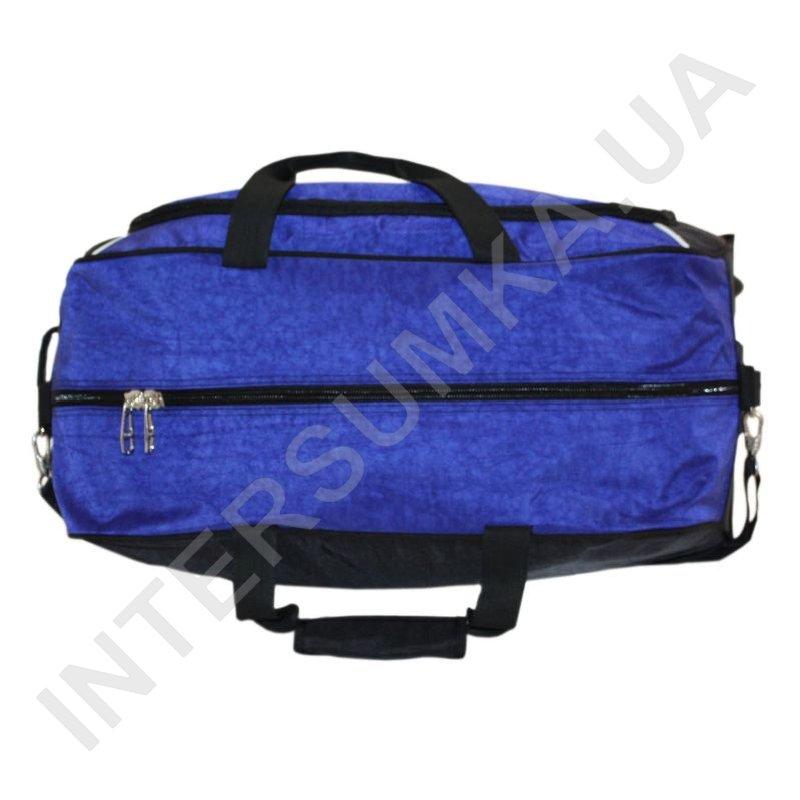 dfdec5d42f30 ... сумка спортивная на колёсах Wallaby 10428 (объем 57л) синяя с голубыми  вставками фото 4 ...