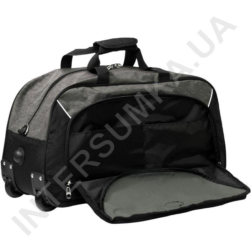a70d315eb4bd ... сумка спортивная на колёсах Wallaby 10428 (объем 57л) хаки с черными  вставками фото 1 ...