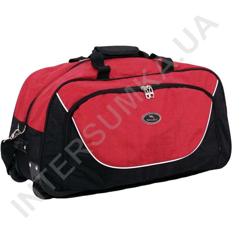 82fb8148a942 ... сумка спортивная на колёсах Wallaby 10428 (объем 57л) черно-красная  фото 1 ...