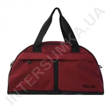 Заказать сумка дорожная Wallaby 213 бордовая в Intersumka.ua