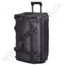 сумка дорожная на колёсах Airtex 836/20 черная (объем 44л)
