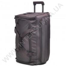 сумка дорожная на колёсах Airtex 836/24 коричневая (объем 61л)
