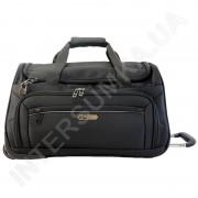 Купить сумка дорожная на колёсах Airtex 837/20 черная (объем 45л)