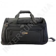 сумка дорожная на колёсах Airtex 837/20 черная (объем 45л)
