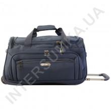 сумка дорожня на колесах Airtex 837/20 сіня (обсяг 45л)
