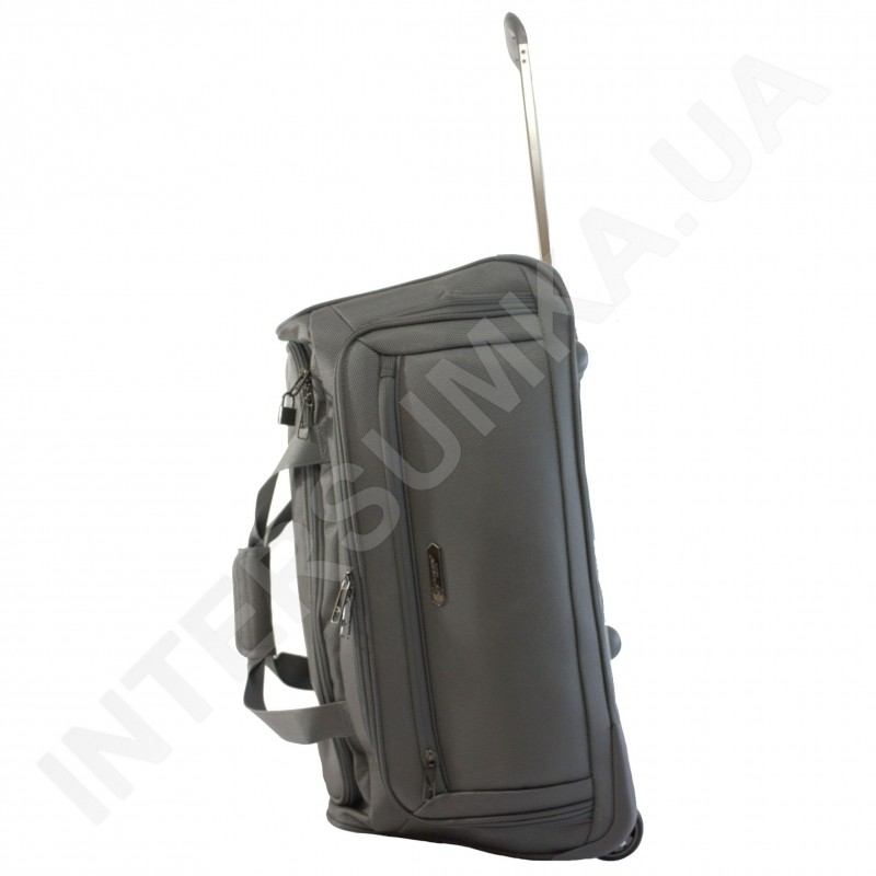 f3d6ba4bb82b Сумка дорожная на колёсах Airtex 837 24 серая средняя сумка на ...