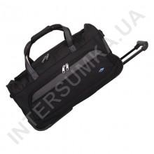 сумка дорожная на колёсах Airtex 856/55 черная (объем 46л)