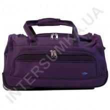 сумка дорожная на колёсах Airtex 856/55 темно-фиолетовая (объем 46л)