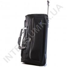 сумка дорожная на колёсах Airtex 856/75 черная (объем 105л)