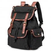 Рюкзак мужской BUG ID005-BK из Canvas + натуральная кожа