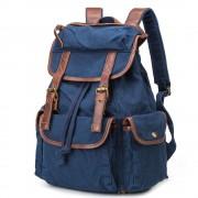 Рюкзак мужской BUG ID005-BL из Canvas + натуральная кожа