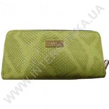 Шкіряний жіночий гаманець Voila (Wallaby) 0038 зелена змія