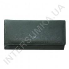 Гаманець жіночий з натуральної шкіри BK Leather 401-7 (Туреччина) зелений флотар