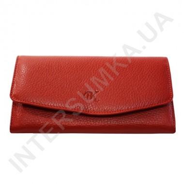 Заказать Женский кожаный кошелек с наружной монетницей BK Leather 501-4 (Турция) красный флотар в Intersumka.ua