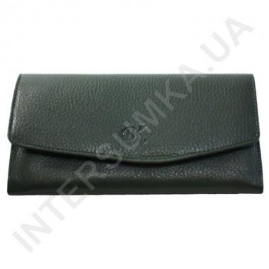 Заказать Женский кожаный кошелек с наружной монетницей BK Leather 501-7 (Турция) зеленый флотар в Intersumka.ua
