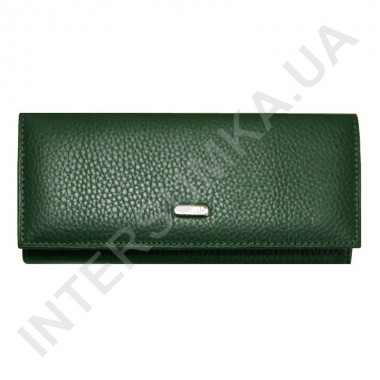 Заказать Кошелек женский из натуральной кожи Canpellini 2036-299 зеленый флотар в Intersumka.ua