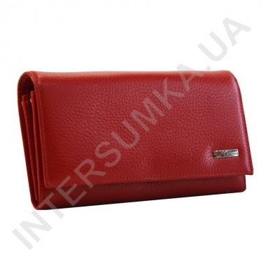 Заказать Кошелек женский из натуральной кожи Desisan 057-4 красный флотар