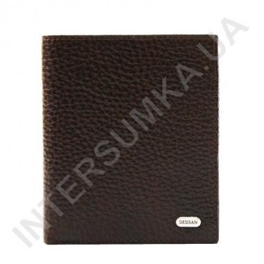 Заказать Вертикальное мужское портмоне без клапана Desisan 112-019 из натуральной кожи