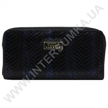 Заказать Кошелек кожаный женский Voila (Wallaby) 0038 черно-синий