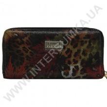 Шкіряний жіночий гаманець Voila (Wallaby) 0038 леопард