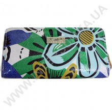 Шкіряний жіночий гаманець Voila (Wallaby) 0038 квітка