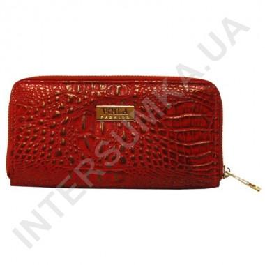 Заказать Кошелек кожаный женский Voila (Wallaby) 0038 красно-золотой