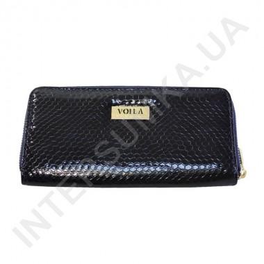 Заказать Кошелек кожаный женский Voila (Wallaby) 0038 синяя лаковая змея