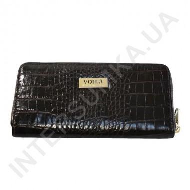 Заказать Кошелек кожаный женский Voila (Wallaby) 0038 коричневый крокодил