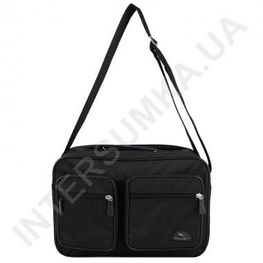 Заказать сумка мужская на 2 отделения Wallaby 2647 черная в Intersumka.ua