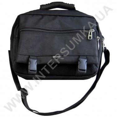 Заказать сумка мужская малая с клапаном и резиновой ручкой Wallaby 2425 черная