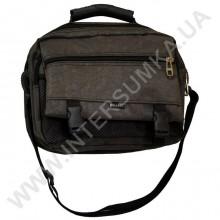сумка мужская малая с клапаном и резиновой ручкой Wallaby 2425 хаки