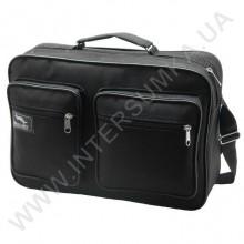 сумка чоловіча на одне відділення Wallaby 2621 чорного кольору