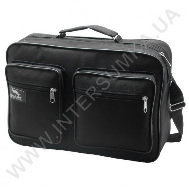 Заказать сумка мужская на одно отделение Wallaby 2621 чёрного цвета