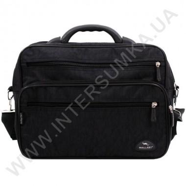 Заказать сумка мужская на два отделения с пластмассовой ручкой Wallaby 2653 черная