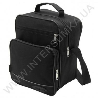 Заказать сумка мужская вертикальная Wallaby 2660 чёрная